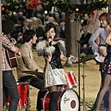 Lily Allen Performs At Chanel Paris Fashion Week Show
