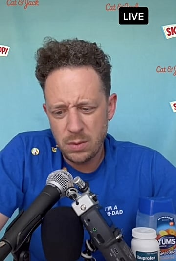 Dad Gives Press Conference About His Day With Kids   TikTok