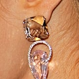 Paris Hilton and her Irene Neuwirth earrings.