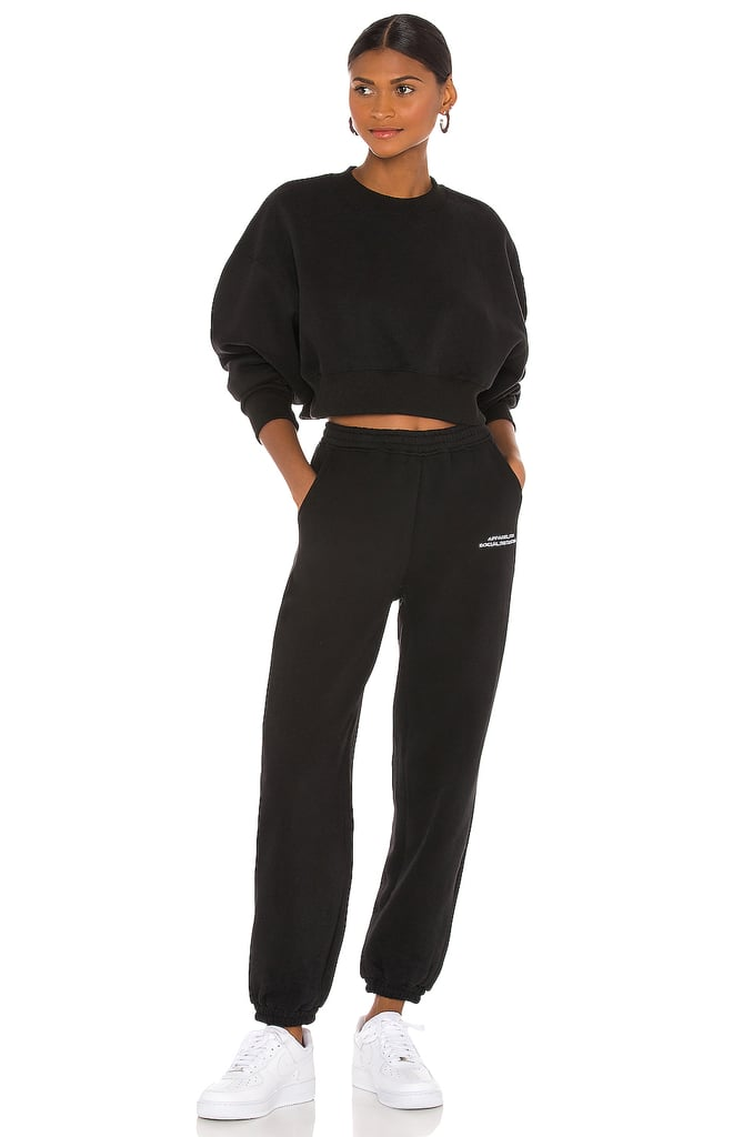 Atoir x Rozalia These Tracksuits Inspired By Social Distancing Track Pants and Cropped Sweatshirt