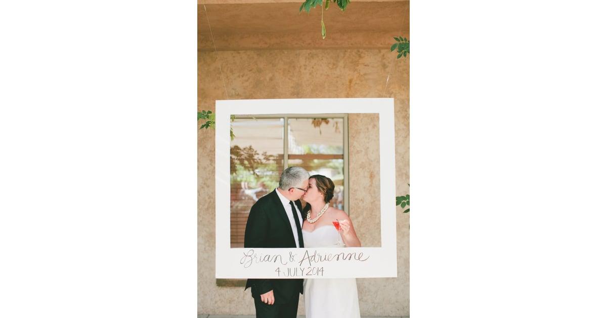 Polaroid Frame Photo Booth   Polaroid Wedding Ideas   POPSUGAR Tech ...