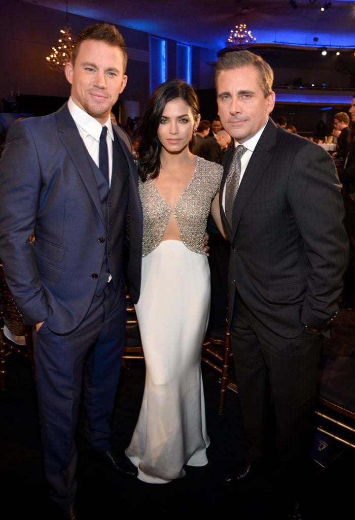 Channing Tatum, Jenna Dewan and Steve Carell