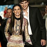Demi Moore and Ashton Kutcher in 2003