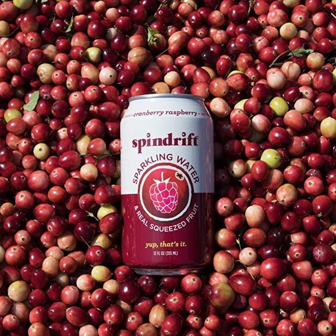 Spindrift Sparkling Water, Cranberry Raspberry