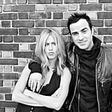 Jennifer Aniston and Justin Theroux joke around in a Terry Richardson shoot.
