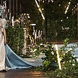 A Bridal Gown and 20-Foot-Long Train From the Rodarte Fall 2020 Runway at New York Fashion Week