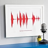 Personalized Voice Wave Print