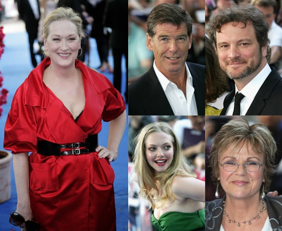 Photos of Meryl Streep, Amanda Seyfried, Julie Walters, Colin Firth and Pierce Brosnan at Mamma Mia! London Premiere