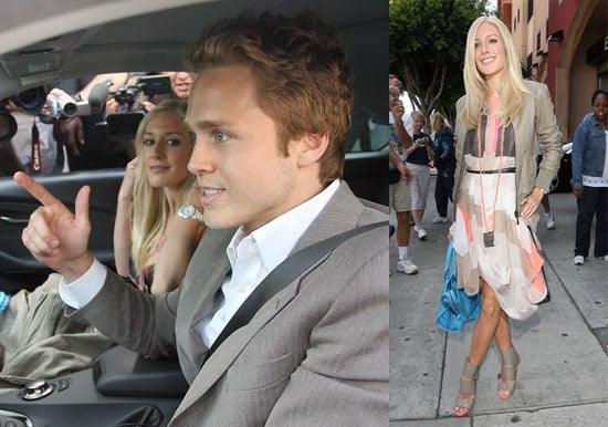 Heidi Montag and Spencer Pratt at Kitson