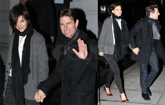 Photos of Tom Cruise and Katie Holmes in New York City