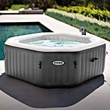 Intex 120 Bubble Jets Four-Person Octagonal Portable Inflatable Hot Tub Spa ($398)