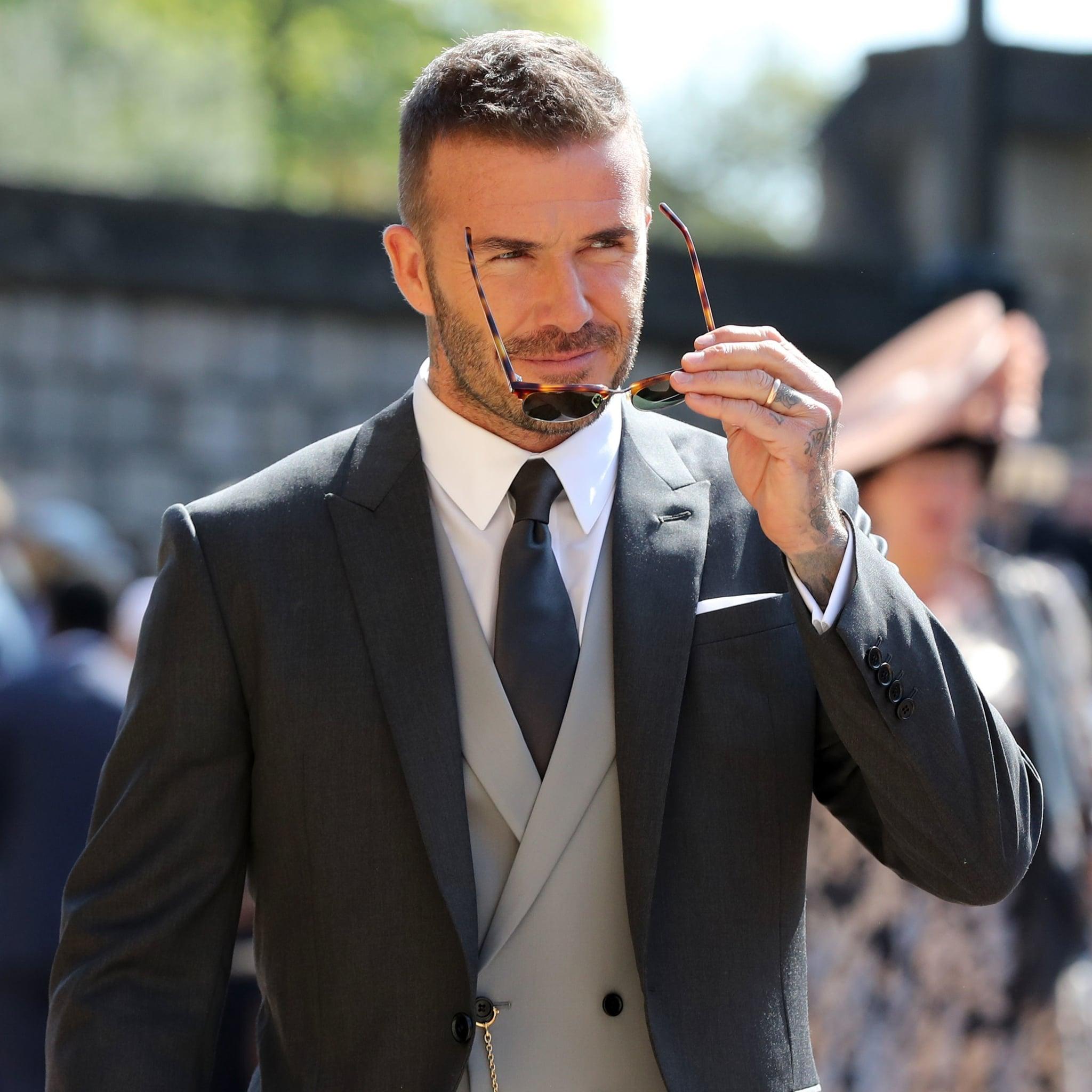 david beckham at royal wedding 2018 pictures | popsugar celebrity