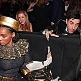 Pictured: Janelle Monáe, Isla Fisher, and Sacha Baron Cohen