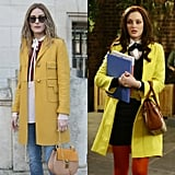 A Yellow Wool Coat Is the Perfect Preppy Throw-on