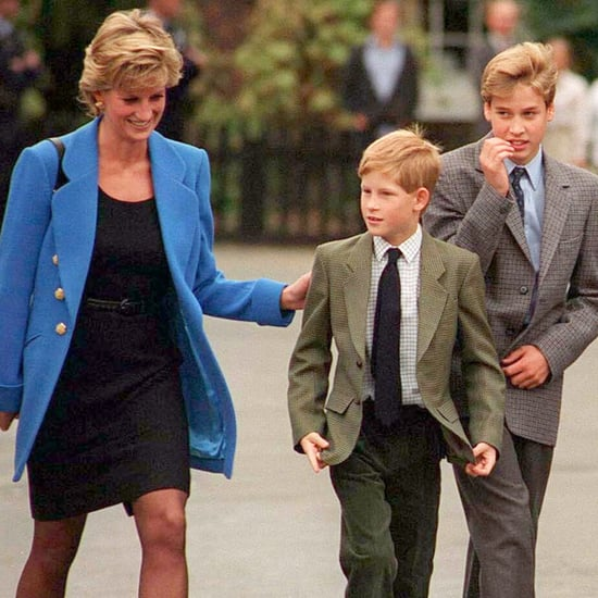 Pictures of Prince Harry and William at Eton College