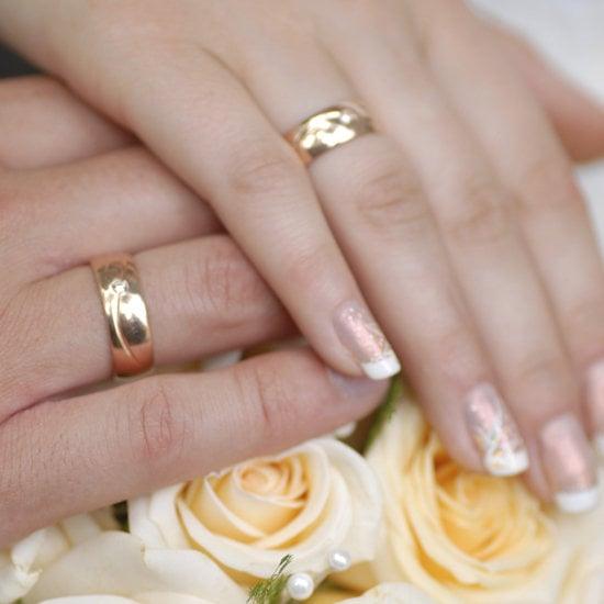Bella has 10 pretty, fun wedding manicure ideas to try.