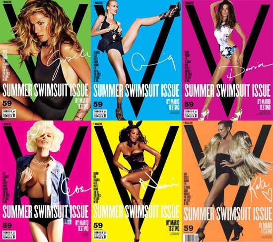Which Supermodel's V Magazine Swimsuit Issue Cover Is Your Favorite?