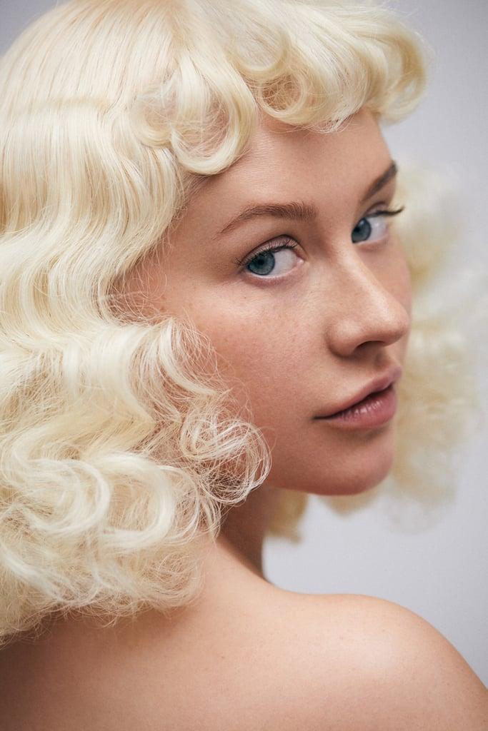 Christina Aguilera S No Makeup Paper Magazine Cover 2018