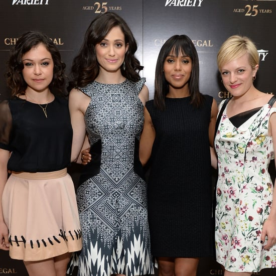Variety Emmy Studio Celebs: Emmy Rossum, Kerry Washington