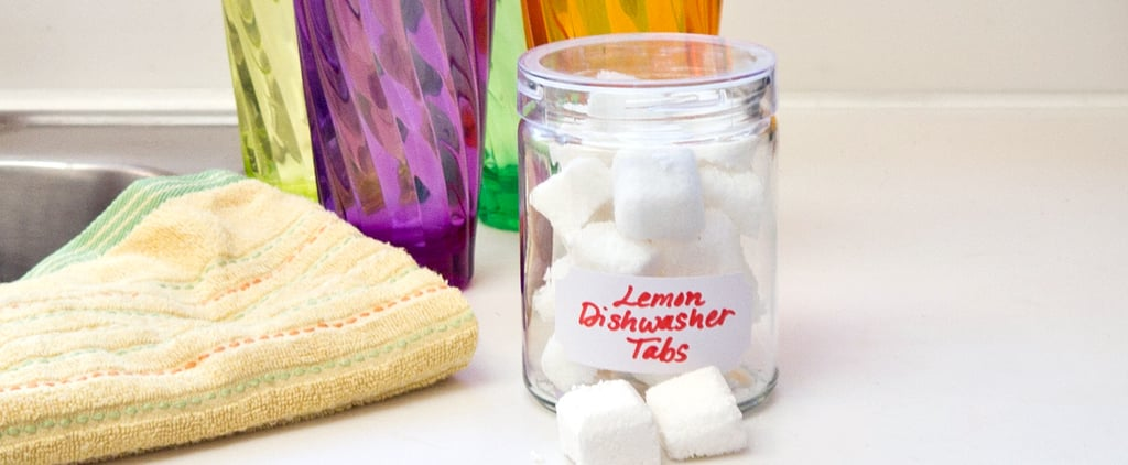 DIY Dishwasher Detergent Tabs
