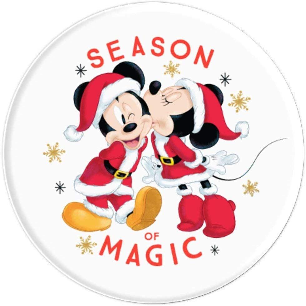 Disney Santa Mickey and Minnie Mouse Season of Magic Holiday PopSockets Grip