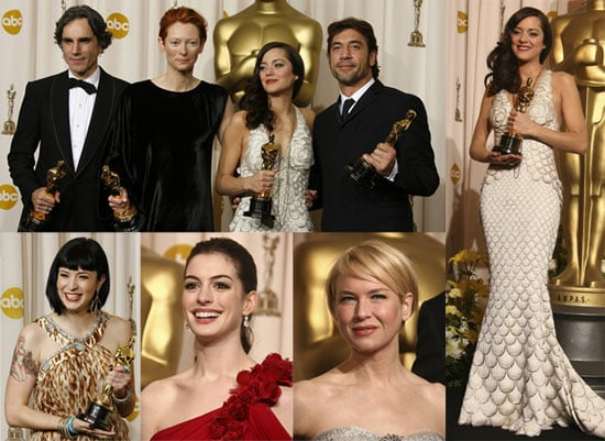 Hey Winners, It's Time To Pose With Your Oscar!