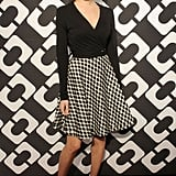 It was this season's DVF for Allison Williams, who picked a Spring 2014 dress instead of anything from the archives.