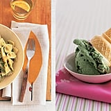 Jessica Seinfeld's Pea Pesto and Mint Chocolate Chip Ice Cream