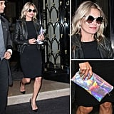 Be inspired by Kate Moss and amp up a chic black look with statement accessories.