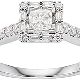 Simply Vera Vera Wang 14k White Gold Diamond Ring