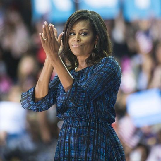 Michelle Obama's Plaid Dress September 2016