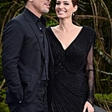 Angelina Jolie Brings Brad and Maddox to Kensington Palace!
