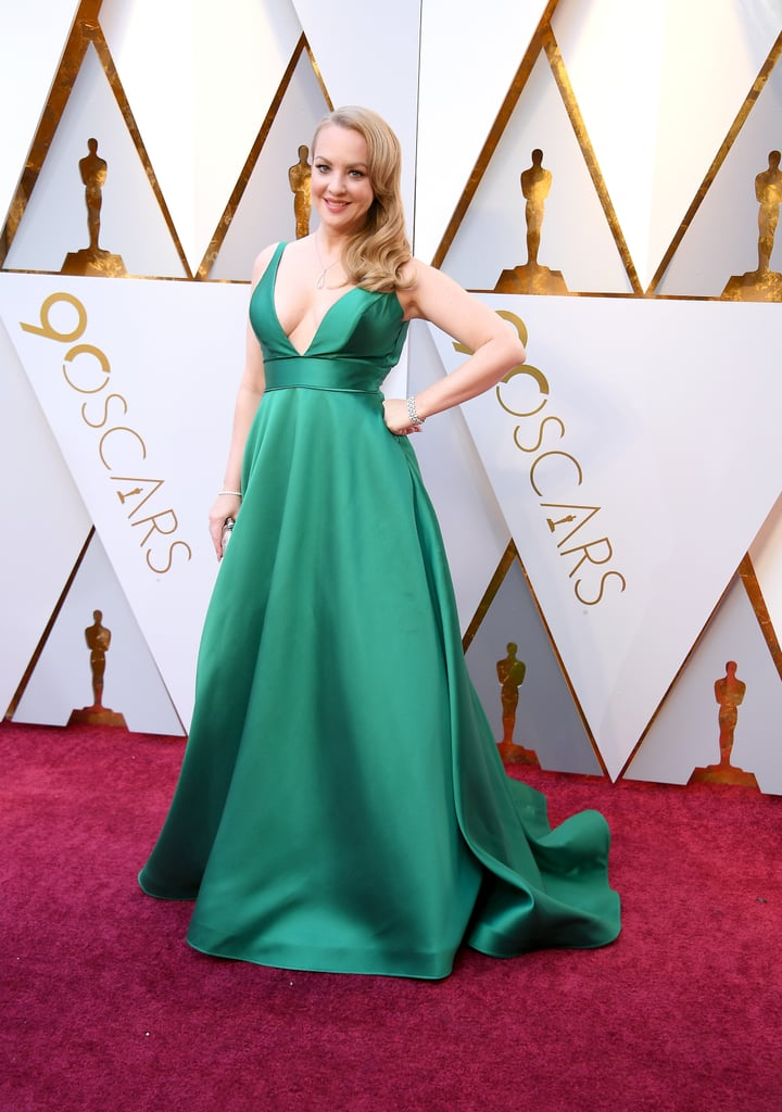 Wendi Mclendon Covey Oscars Red Carpet Dresses 2018 Popsugar