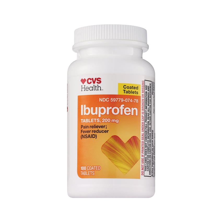 CVS Health Ibuprofen Coated Tablets