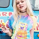 Lisa Frank x SpongeBob Girls Krabby Patty Tie-Dye Tee ($25)