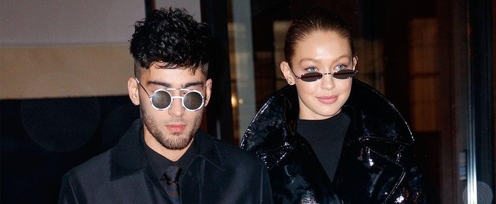 Gigi Hadid's Louis Vuitton Galaxy Pants For Zayn's Birthday