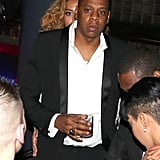 Beyonce and Jay-Z Pictures at Two Kings Dinner