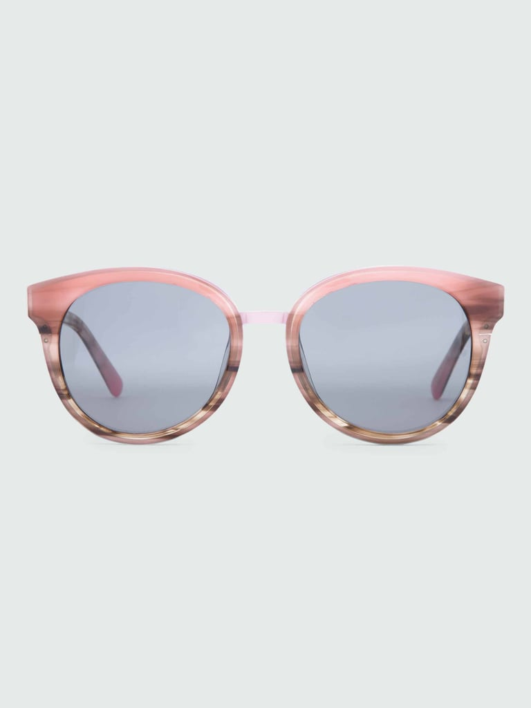 Faded Pink Tortoise Sunglasses ($175)