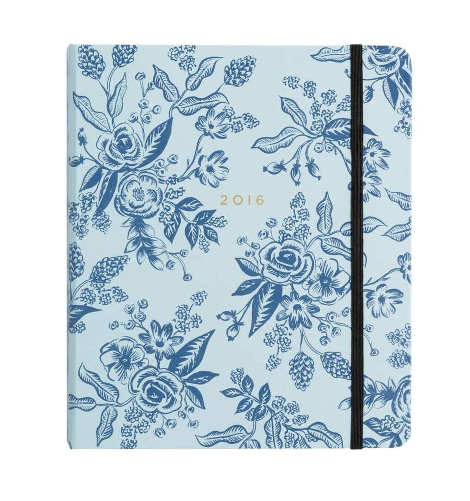 The Well Appointed House Blue Toile 17-Month Planner ($29, originally $34)