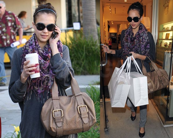 Photos of Jessica Alba Shopping in LA
