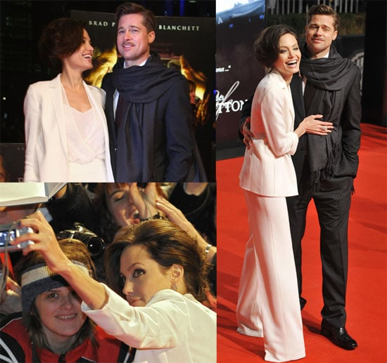 Brad Pitt and Angelina Jolie at Berlin Benjamin Button Premiere