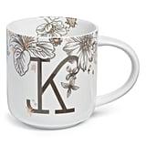Nordstrom at Home Floral Monogram Mug
