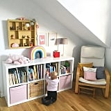 Pink and White Playroom