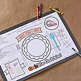 Kids' Thanksgiving Place Mats