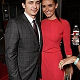 James Franco brought a date to the event.