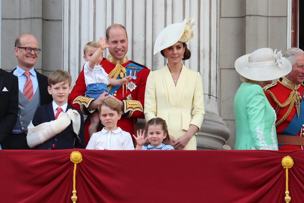 Prince Louis at Trooping the Colour 2019 Pictures