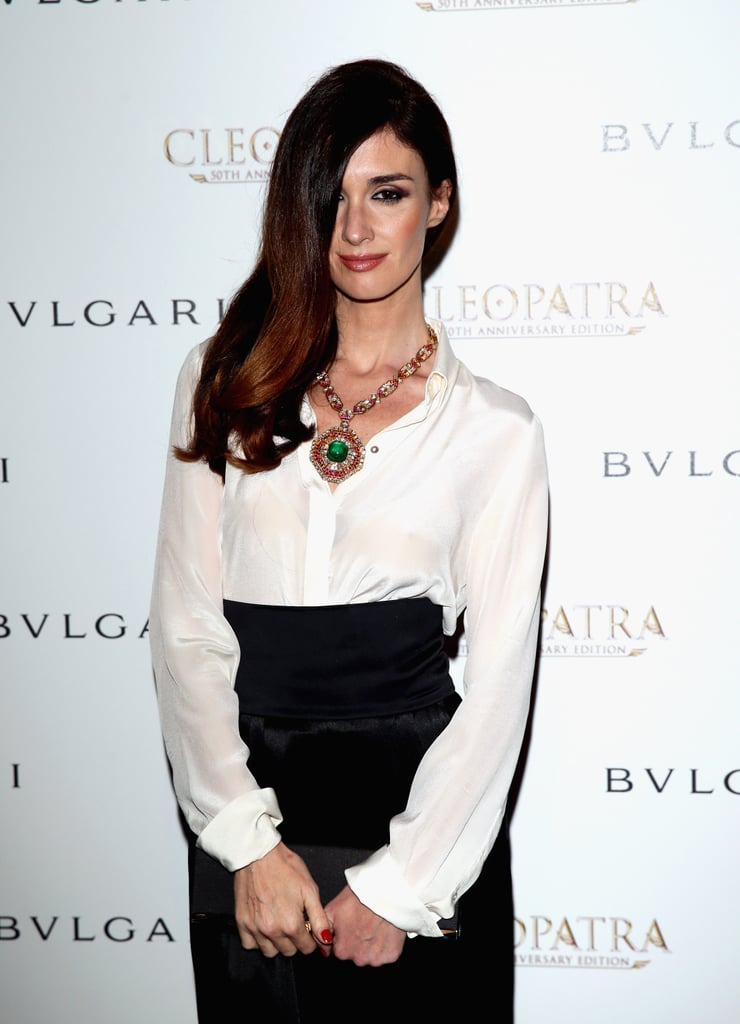 Well, hello! We're loving the side-swept look of Paz Vega.