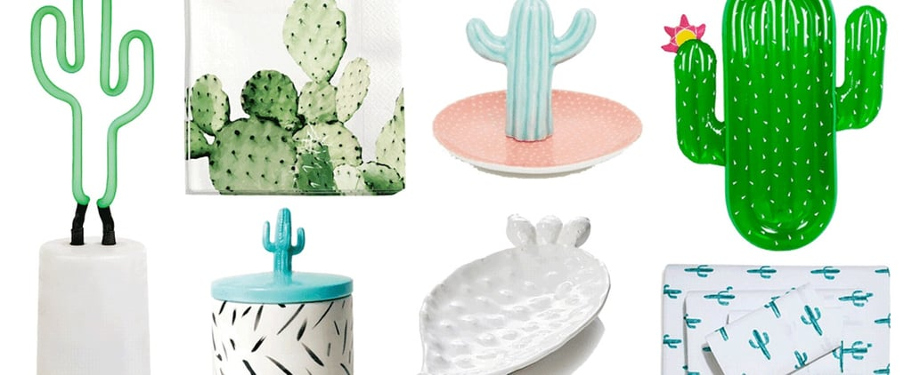 This Cactus Decor Will Give You Instant Vacation Vibes