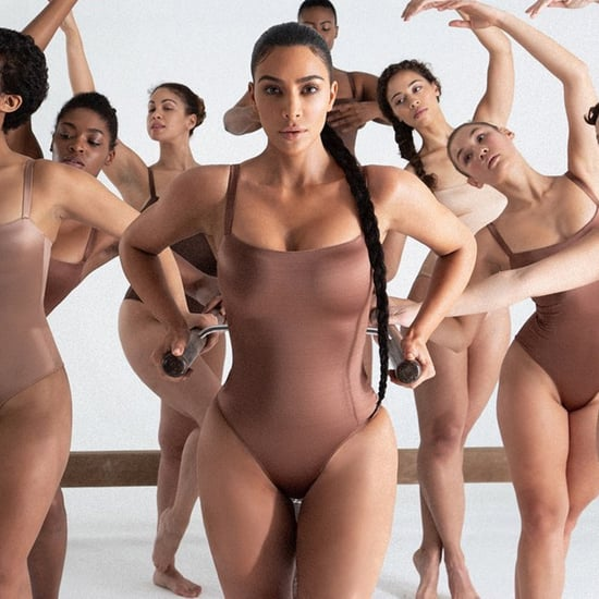 Kim Kardashian Skims Stretch Satin Collection — Photos