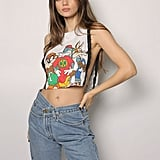 iamkoko.la Looney Tunes Side Chain Crop Tank